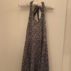 Aeropostale Flowered Halter Dress XS